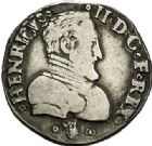 Photo numismatique  VENTE 7 juin 2017 - Coll Fr. Beau et divers Fr. BEAU - ROYALES FRANCAISES HENRI II (31 mars 1547-10 juillet 1559)  8 Demi-teston du 2ème type, Bourges, 1558.