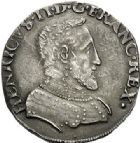 Photo numismatique  ARCHIVES VENTE 2017-7 juin - Coll Fr. Beau Fr. BEAU - ROYALES FRANCAISES HENRI II (31 mars 1547-10 juillet 1559)  10 Teston du 2ème type, Lyon, 1553.