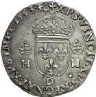 Photo numismatique  VENTE 7 juin 2017 - Coll Fr. Beau et divers Fr. BEAU - ROYALES FRANCAISES HENRI II (31 mars 1547-10 juillet 1559)  10 Teston du 2ème type, Lyon, 1553.