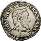 Photo numismatique  VENTE 7 juin 2017 - Coll Fr. Beau et divers Fr. BEAU - ROYALES FRANCAISES HENRI II (31 mars 1547-10 juillet 1559)  11 Teston du 2ème type, Lyon, 1553.