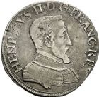 Photo numismatique  ARCHIVES VENTE 2017-7 juin - Coll Fr. Beau Fr. BEAU - ROYALES FRANCAISES HENRI II (31 mars 1547-10 juillet 1559)  13 Demi-teston du 2ème type, Paris, 1552.