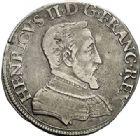 Photo numismatique  VENTE 7 juin 2017 - Coll Fr. Beau et divers Fr. BEAU - ROYALES FRANCAISES HENRI II (31 mars 1547-10 juillet 1559)  13 Demi-teston du 2ème type, Paris, 1552.