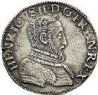 Photo numismatique  VENTE 7 juin 2017 - Coll Fr. Beau et divers Fr. BEAU - ROYALES FRANCAISES HENRI II (31 mars 1547-10 juillet 1559)  14 Teston du 2ème type, Poitiers, 1554.
