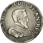 Photo numismatique  VENTE 7 juin 2017 - Coll Fr. Beau et divers Fr. BEAU - ROYALES FRANCAISES HENRI II (31 mars 1547-10 juillet 1559)  16 Teston et demi-teston du 2ème type, Rouen, 1557, 1554.