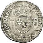 Photo numismatique  VENTE 7 juin 2017 - Coll Fr. Beau et divers Fr. BEAU - ROYALES FRANCAISES HENRI II (31 mars 1547-10 juillet 1559)  17 Demi-teston du 2ème type, Saint-Lô, 1552.