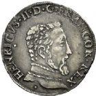 Photo numismatique  ARCHIVES VENTE 2017-7 juin - Coll Fr. Beau Fr. BEAU - ROYALES FRANCAISES HENRI II (31 mars 1547-10 juillet 1559)  20 Teston du 2ème type, Toulouse, 1557.