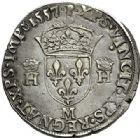 Photo numismatique  VENTE 7 juin 2017 - Coll Fr. Beau et divers Fr. BEAU - ROYALES FRANCAISES HENRI II (31 mars 1547-10 juillet 1559)  20 Teston du 2ème type, Toulouse, 1557.