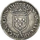 Photo numismatique  ARCHIVES VENTE 2017-7 juin - Coll Fr. Beau Fr. BEAU - ROYALES FRANCAISES HENRI II (31 mars 1547-10 juillet 1559)  23 Teston du 2ème type au Moulin de Paris, 1552.