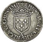 Photo numismatique  VENTE 7 juin 2017 - Coll Fr. Beau et divers Fr. BEAU - ROYALES FRANCAISES HENRI II (31 mars 1547-10 juillet 1559)  23 Teston du 2ème type au Moulin de Paris, 1552.