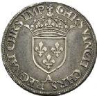 Photo numismatique  VENTE 7 juin 2017 - Coll Fr. Beau et divers Fr. BEAU - ROYALES FRANCAISES HENRI II (31 mars 1547-10 juillet 1559)  25 Demi-teston au Moulin du 2ème type, Paris, non daté (1552).