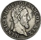 Photo numismatique  VENTE 7 juin 2017 - Coll Fr. Beau et divers Fr. BEAU - ROYALES FRANCAISES HENRI II (31 mars 1547-10 juillet 1559)  26 Teston au Moulin du 3ème type, Paris, 1554.