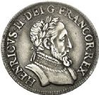Photo numismatique  VENTE 7 juin 2017 - Coll Fr. Beau Fr. BEAU - ROYALES FRANCAISES HENRI II (31 mars 1547-10 juillet 1559)  28 Demi-teston au Moulin du 4ème type, Paris, 1554.
