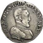Photo numismatique  VENTE 7 juin 2017 - Coll Fr. Beau et divers Fr. BEAU - ROYALES FRANCAISES HENRI II (31 mars 1547-10 juillet 1559)  29 Teston du Dauphiné au petit buste, Grenoble, 1556.