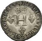 Photo numismatique  ARCHIVES VENTE 2017-7 juin - Coll Fr. Beau Fr. BEAU - ROYALES FRANCAISES HENRI II (31 mars 1547-10 juillet 1559)  30 Gros de Nesle, Hôtel de Nesle, Paris, 1550.