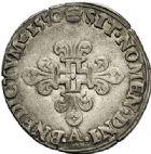 Photo numismatique  VENTE 7 juin 2017 - Coll Fr. Beau et divers Fr. BEAU - ROYALES FRANCAISES HENRI II (31 mars 1547-10 juillet 1559)  30 Gros de Nesle, Hôtel de Nesle, Paris, 1550.