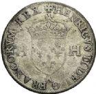 Photo numismatique  VENTE 7 juin 2017 - Coll Fr. Beau et divers Fr. BEAU - ROYALES FRANCAISES HENRI II (31 mars 1547-10 juillet 1559)  32 Douzain aux deux H, Moulin de Paris, 1553.