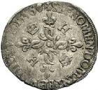 Photo numismatique  VENTE 7 juin 2017 - Coll Fr. Beau et divers Fr. BEAU - ROYALES FRANCAISES HENRI II (31 mars 1547-10 juillet 1559)  33 Douzain aux croissants, Poitiers, 1556.