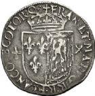 Photo numismatique  VENTE 7 juin 2017 - Coll Fr. Beau et divers Fr. BEAU - ROYALES FRANCAISES FRANCOIS II (10 juillet 1559-5 décembre 1560) Monnayage franco-écossais 36 Gros ou teston, 1560.