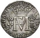 Photo numismatique  VENTE 7 juin 2017 - Coll Fr. Beau et divers Fr. BEAU - ROYALES FRANCAISES FRANCOIS II (10 juillet 1559-5 décembre 1560) Monnayage franco-écossais 37 Gros ou teston, 1560.