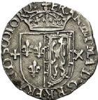 Photo numismatique  ARCHIVES VENTE 2017-7 juin - Coll Fr. Beau Fr. BEAU - ROYALES FRANCAISES FRANCOIS II (10 juillet 1559-5 décembre 1560) Monnayage franco-écossais 38 1/2 gros ou 1/2 teston, Edimbourg, 1560.