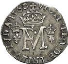 Photo numismatique  VENTE 7 juin 2017 - Coll Fr. Beau et divers Fr. BEAU - ROYALES FRANCAISES FRANCOIS II (10 juillet 1559-5 décembre 1560) Monnayage franco-écossais 38 1/2 gros ou 1/2 teston, Edimbourg, 1560.