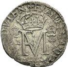 Photo numismatique  VENTE 7 juin 2017 - Coll Fr. Beau et divers Fr. BEAU - ROYALES FRANCAISES FRANCOIS II (10 juillet 1559-5 décembre 1560) Monnayage franco-écossais 39 1/4 de gros, Edimbourg, 1558.