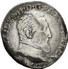 Photo numismatique  ARCHIVES VENTE 2017-7 juin - Coll Fr. Beau Fr. BEAU - ROYALES FRANCAISES FRANCOIS II (10 juillet 1559-5 décembre 1560) Monnayage au type de Henri II 40 Teston du 2ème type, Aix, 1559.