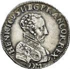 Photo numismatique  VENTE 7 juin 2017 - Coll Fr. Beau et divers Fr. BEAU - ROYALES FRANCAISES FRANCOIS II (10 juillet 1559-5 décembre 1560) Monnayage au type de Henri II 41 Teston du 2ème type, Bordeaux, 1559.