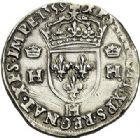 Photo numismatique  ARCHIVES VENTE 2017-7 juin - Coll Fr. Beau Fr. BEAU - ROYALES FRANCAISES FRANCOIS II (10 juillet 1559-5 décembre 1560) Monnayage au type de Henri II 42 Teston du 2ème type, La Rochelle, 1559.