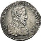 Photo numismatique  ARCHIVES VENTE 2017-7 juin - Coll Fr. Beau Fr. BEAU - ROYALES FRANCAISES FRANCOIS II (10 juillet 1559-5 décembre 1560) Monnayage au type de Henri II 46 Teston du 2ème type, Nantes, 1559.