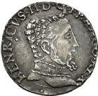 Photo numismatique  ARCHIVES VENTE 2017-7 juin - Coll Fr. Beau Fr. BEAU - ROYALES FRANCAISES FRANCOIS II (10 juillet 1559-5 décembre 1560) Monnayage au type de Henri II 47 Teston et demi-teston du 2ème type, Toulouse, 1559.