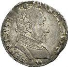 Photo numismatique  ARCHIVES VENTE 2017-7 juin - Coll Fr. Beau Fr. BEAU - ROYALES FRANCAISES FRANCOIS II (10 juillet 1559-5 décembre 1560) Monnayage au type de Henri II 48 Testons du 3ème type, Bayonne, 1559, 1560.
