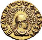 Photo numismatique  ARCHIVES VENTE 2017-7 juin - Coll Fr. Beau GRÈCE ANTIQUE ÉTHIOPIE ENDYBIS (vers 270-300) 251- Demi aureus ou unité d'or.