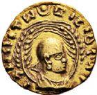 Photo numismatique  VENTE 7 juin 2017 - Coll Fr. Beau et divers GRECE ANTIQUE ETHIOPIE ENDYBIS (vers 270-300) 251- Demi aureus ou unité d'or.