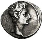 Photo numismatique  VENTE 7 juin 2017 - Coll Fr. Beau et divers EMPIRE ROMAIN OCTAVE-AUGUSTE. (Empereur en 29 - Auguste 27 av.-14 ap. JC)  261 Denier, Colonia Patricia, (17-16).