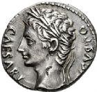 Photo numismatique  VENTE 7 juin 2017 - Coll Fr. Beau et divers EMPIRE ROMAIN OCTAVE-AUGUSTE. (Empereur en 29 - Auguste 27 av.-14 ap. JC)  263 Denier, Colonia Patricia, (19-18).
