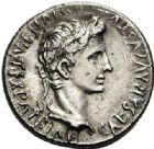 Photo numismatique  ARCHIVES VENTE 2017-7 juin - Coll Fr. Beau EMPIRE ROMAIN OCTAVE-AUGUSTE. (Empereur en 29 - Auguste 27 av.-14 ap. JC)  264 Denier, Lyon, (2 avant J.C.-4 (?) après J.C.).