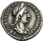 Photo numismatique  ARCHIVES VENTE 2017-7 juin - Coll Fr. Beau EMPIRE ROMAIN SABINE (épouse de Hadrien +137)  273 Denier, Rome.