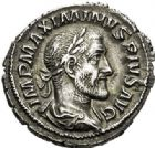 Photo numismatique  ARCHIVES VENTE 2017-7 juin - Coll Fr. Beau EMPIRE ROMAIN MAXIMIN Ier (235-238)  288 Denier, Rome, (235-236).