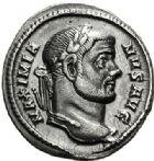 Photo numismatique  VENTE 7 juin 2017 - Coll Fr. Beau et divers EMPIRE ROMAIN MAXIMIEN HERCULE (César 286-305 - Auguste 306-308, 310)  294 Argenteus, Rome (296-297).