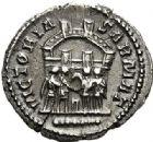 Photo numismatique  ARCHIVES VENTE 2017-7 juin - Coll Fr. Beau EMPIRE ROMAIN MAXIMIEN HERCULE (César 286-305 - Auguste 306-308, 310)  295 Argenteus, Trèves (298-300).