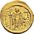 Photo numismatique  ARCHIVES VENTE 2017-7 juin - Coll Fr. Beau EMPIRE BYZANTIN JUSTINIEN Ier (527-565)  303 Solidus, Constantinople, officine Z.