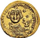 Photo numismatique  ARCHIVES VENTE 2017-7 juin - Coll Fr. Beau EMPIRE BYZANTIN HERACLIUS et HERACLIUS CONSTANTIN (613-638)  304 Solidus, Constantinople, officine E.