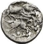 Photo numismatique  ARCHIVES VENTE 2017-7 juin - Coll Fr. Beau IBERIE- GAULE - CELTES VÉNÉTES (région de Vannes)  305 1/4 de statère argent.