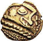 Photo numismatique  ARCHIVES VENTE 2017-7 juin - Coll Fr. Beau IBERIE- GAULE - CELTES BELLOVAQUES (région de Beauvais)  307 Statère d'or (vers 60-30/25).