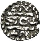 Photo numismatique  ARCHIVES VENTE 2017-7 juin - Coll Fr. Beau CAROLINGIENS PEPIN LE BREF (751- sacré le 28 juillet 754 - 24 septembre 768)  317 Denier, Monastère de Saint-Denis.