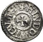 Photo numismatique  VENTE 7 juin 2017 - Coll Fr. Beau et divers CAROLINGIENS LOUIS LE PIEUX, empereur (janvier 814-20 juin 840)  319 LOUIS LE PIEUX (814-840). Obole, Bourges