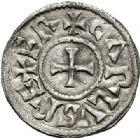 Photo numismatique  ARCHIVES VENTE 2017-7 juin - Coll Fr. Beau CAROLINGIENS CHARLES LE CHAUVE, roi (840-875)  320 Denier, Toulouse.