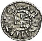Photo numismatique  VENTE 7 juin 2017 - Coll Fr. Beau et divers CAROLINGIENS CHARLES LE CHAUVE, roi (840-875)  321 Obole, Clermont-Ferrand.