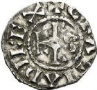Photo numismatique  ARCHIVES VENTE 2017-7 juin - Coll Fr. Beau CAROLINGIENS CHARLES LE SIMPLE (28 janvier 893-destitué en 923)  322 Denier, Meaux.
